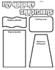 Holiday Tradition Worksheets/Mind maps