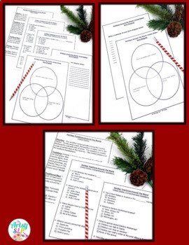 Holiday Traditions Around the World {NO PREP}