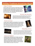 Holiday Traditions Around the World: Christmas, Hanukkah, Kwanzaa, Pere Noel!