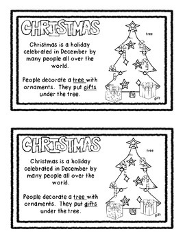 Holiday Traditions Around the World Mini Book