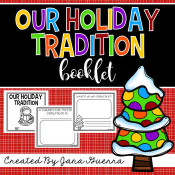 Holiday Traditions Booklet