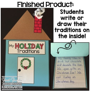 Holiday Traditions {Craft & Writing Activity}