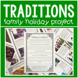 Holiday Traditions Family Project
