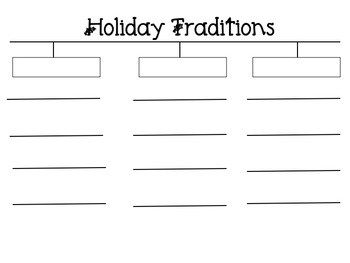 Holiday Traditions Maps