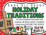 Holiday Traditions Mini Book for BIG KIDS