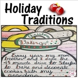 Holiday Traditions Writing ~ Holidays in Secondary