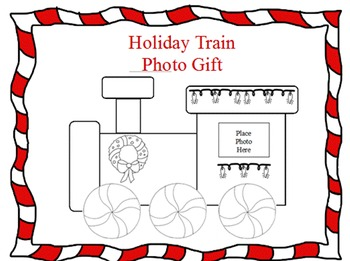 Holiday Train Photo Present