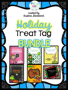 Holiday Treat Tag BUNDLE Set