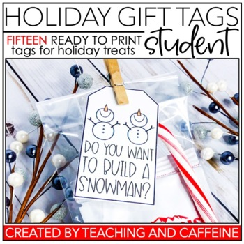 Holiday Treat Tags | Student