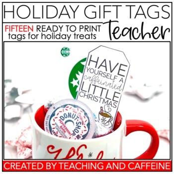 Holiday Treat Tags | Teacher
