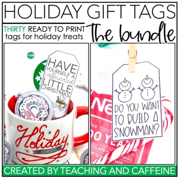 Holiday Treat Tags | THE BUNDLE