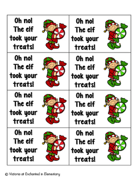 Holiday Treats Phonics: Ending Digraphs Pack