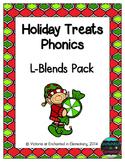 Holiday Treats Phonics: L-Blends Pack