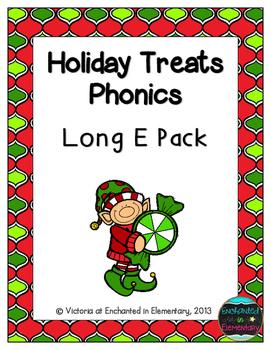 Holiday Treats Phonics: Long E Pack