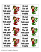 Holiday Treats Phonics: Long O Pack