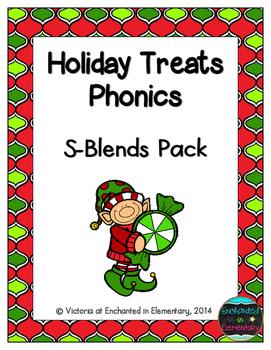 Holiday Treats Phonics: S-Blends Pack