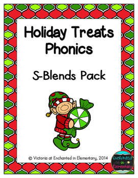 Holiday Treats Phonics: S-Blends Pack
