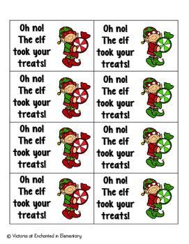 Holiday Treats Phonics: Short E Pack