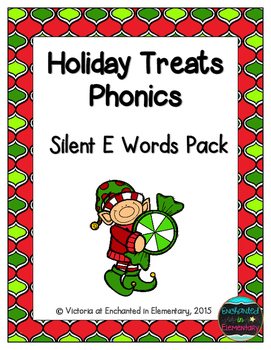 Holiday Treats Phonics: Silent E Words Pack