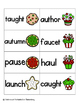 Holiday Treats Phonics: Vowel Digraphs and Diphthongs Pack 2: aw, au, oi, oy