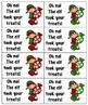 Holiday Treats Sight Words! Bundle of Fry Lists 1-3