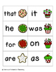 Holiday Treats Sight Words! Fry List 1