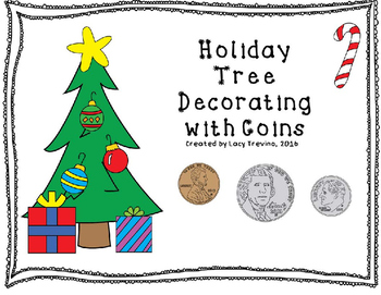 Christmas Tree Decorating Using Coins