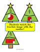 Holiday Tree Fraction Puzzles - 31 Two Piece Puzzles for Practicing Fractions