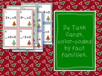 Christmas Math Missing Addends