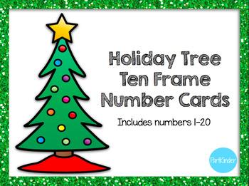 Holiday Tree Ten Frames