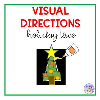 Holiday Tree Visual Directions