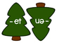 Holiday Tree Word Family Sort: Short E