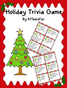 Holiday Trivia Game by KMediaFun