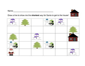 Holiday Unit Homework Packet