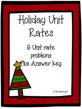 Holiday Unit Rates