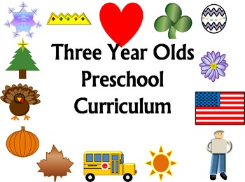 Holiday Unit Themed Preschool Curriculum (3 year olds)