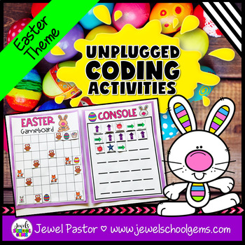 Holiday Unplugged Coding Activities (Easter Coding Unplugged Activity)