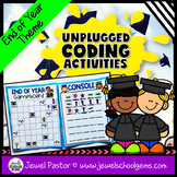 Holiday Unplugged Coding Activities (End of Year Coding Un