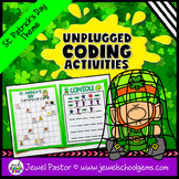 Holiday Unplugged Coding Activities (St Patrick's Day Codi