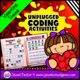 Holiday Unplugged Coding Activities (Valentine's Day Codin