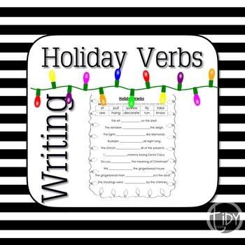 Holiday Verbs