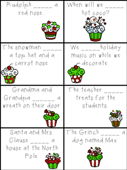 Holiday Verbs: Using has and have