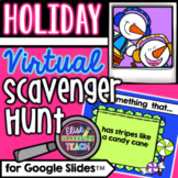 Holiday Virtual Scavenger Hunt for Distance Learning