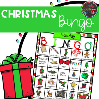 Holiday Vocabulary Bingo