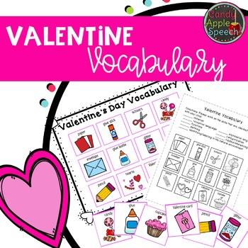 Valentine Vocabulary Pack