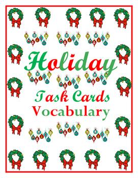 9-12 Vocabulary for the Holidays