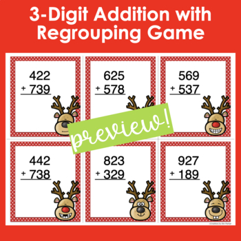 Holiday War Games- Addition and Subtraction with Regrouping