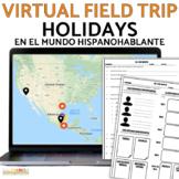 Holiday Cultural Webquest Interactive Map BUNDLE