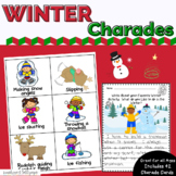 Christmas Holiday Charades Game or Brain Breaks