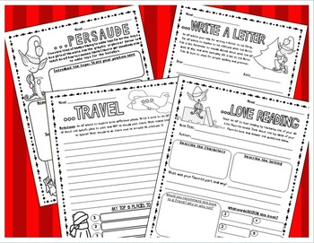 Holiday, Winter, Christmas Writing Activities (Teach an Elf to...)